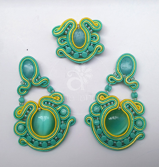 soutache analanas
